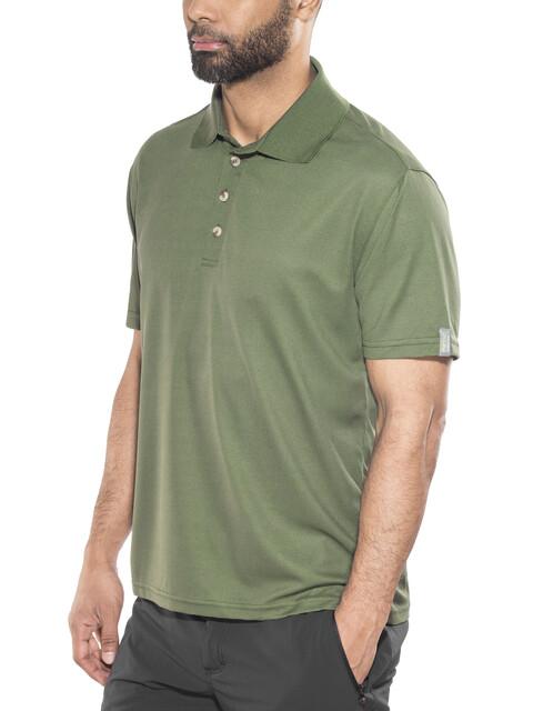 Meru Wembley Functional Polo Shirt Men Thyme
